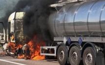 Le tracteur d'un camion-citerne prend feu en Seine-Maritime : l'A29 coupée en direction du Havre