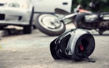 Seine-Maritime : collision entre deux motos et une voiture entre Saint-Pierre-de-Varengeville et Duclair, trois blessés légers