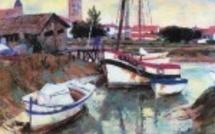 Michel King, peintre officiel de la Marine expose au Havre