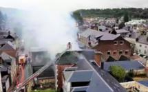 Eure : incendie et explosion à Bernay, un blessé grave et une école confinée