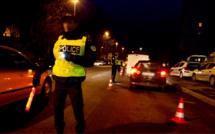 Refus d'obtempérer à Évreux : la voiture du chauffard alcoolisé finit sa course contre un poteau