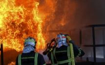 100 tonnes de paille et des engins agricoles détruits dans l'incendie d'un bâtiment de 700 m2 en Seine-Maritime