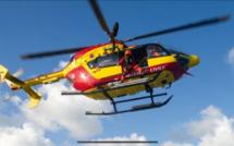 Evacuation médicale d'un marin blessé lors d'une action de pêche à la coquille, au large du Havre