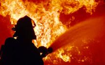 Une chaumière détruite par le feu cette nuit près de Duclair : une mère et sa fille relogées
