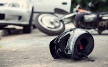Seine-Maritime : un accident entre une moto et une voiture fait deux blessés, dont un grave