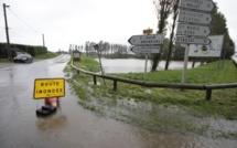 Inondations dans le pays de Caux : les sapeurs pompiers sur tous les fronts