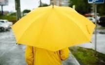 Pour la sécurité des piétons, des parapluies fluorescents distribués gratuitement