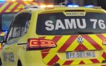 Seine-Maritime : un face-à-face entre deux voitures fait six blessés, tous transportés à l'hôpital