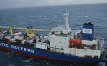 Assistance médicale en mer : un marin évacué par l'hélicoptère de la Marine nationale
