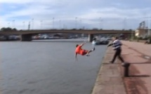 """""""Le pousseur des quais de Rouen"""" n'arrête pas de sévir ...sur Youtube"""