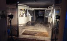 Le hall de la mairie de Canteleu victime d'un acte criminel avec des bouteilles incendiaires