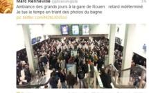 Un convoi exceptionnel en panne à un passage à niveau près de Pavilly : le trafic des trains a repris