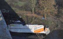 """Accident de Pont de l'Arche : """" J'ai cru qu'un avion venait de s'écraser"""""""