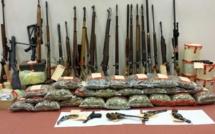 28 armes et 500 kg de munitions saisis chez deux collectionneurs de l'Eure