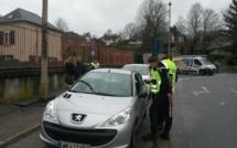 Opération de sécurité routière à Bernay : une vingtaine d'infractions constatées en 4 heures