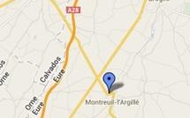 Un motard grièvement blessé dans une collision à Montreuil-l'Argillé