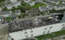 70 pompiers mobilisés pour combattre un incendie à Fécamp : une centaine de locataires évacués