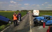 Deux blessés graves dans un terrible face-à-face entre Bernay et Beaumesnil