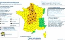"""Orages, vent et pluie : la Seine-Maritime placée en vigilance """"orange"""""""