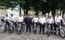 Les policiers enfourchent leur VTT pour lutter contre l'insécurité à Rouen