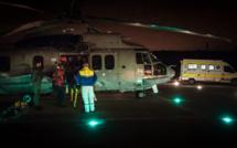Evacuation médicale en pleine nuit au large du Havre : le passager de 86 ans évacué par hélicoptère