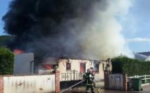 A Nassandres, une maison d'habitation détruite par un incendie : un couple et ses enfants relogés par la mairie