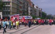 Près de 3 000 manifestants en Seine-Maritime, à l'appel de la CGT