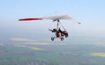 Atterrissage forcé d'un ULM après une panne de moteur : plus de peur que de mal !