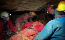 Trois adultes et un enfant égarés dans les grottes de Caumont retrouvés sains et saufs