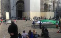A Rouen, une quarantaine de manifestants en soutien à la Palestine
