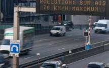 Pollution aux particules en Haute-Normandie : réduire sa vitesse de 20 km/h, recommande le préfet