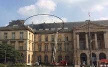 Incendie dans les combles : l'hôtel de ville de Rouen évacué