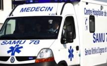 Yvelines : un motard grièvement blessé à Mantes-la-Ville