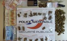 Du cannabis et 1 500€ en billets saisis au domicile d'un adolescent de Oissel arrêté à Rouen