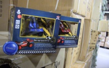 """20 000 jouets """"non conformes"""", saisis au mois de novembre, détruits par la Douane"""