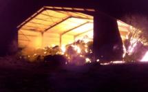 Dans l'Eure, un hangar agricole contenant du lin part en fumée : la piste criminelle est privilégiée