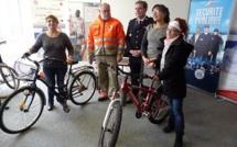 Seine-Maritime : les vélos abandonnés seront offerts par la Police nationale à la Croix-Rouge
