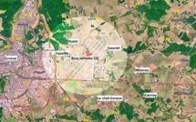 Un dépôt de munitions allemand découvert sur la BA 105 d'Evreux