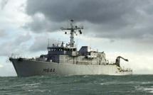 Guerre des mines au large de la Seine-Maritime : dix bâtiments de guerre engagés