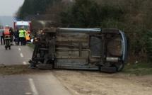 Plus de peur que de mal : deux blessés légers dans cet accident à Fleury-sur-Andelle