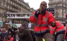 Les petits patrons manifestent à Rouen contre le poids des charges