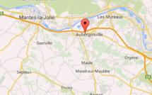 Une station-service attaquée à la voiture bélier cette nuit à Aubergenville