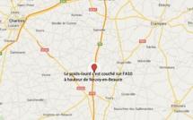 Accident de poids-lourd : l'A10 coupée et déviée en direction de Paris au sud-est de Chartres