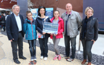 Le 3 millionième visiteur de la Cité de la Mer à Cherbourg est une famille picarde