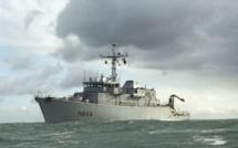Pégase, le chasseur de mines de la Marine nationale fait escale à Rouen, ce week-end