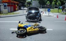 Eure : un motard blessé dans une collision en centre-ville des Andelys