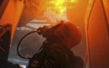 Incendie à Grand-Couronne : une mère et son fils sauvés par un voisin qui défonce la porte