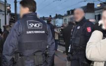 Gendarmes et police ferroviaire mobilisés : opération de sécurité à bord des trains entre Gaillon et Vernon