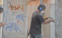 Rouen : les tagueurs confondus par la peinture fraîche qu'ils avaient sur les mains