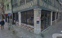 Casse à la voiture-bélier ce matin contre une boutique de luxe à Rouen